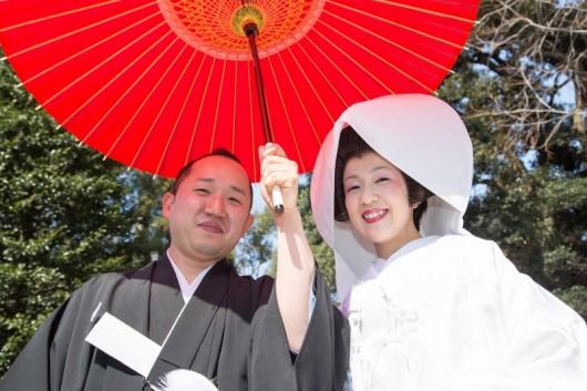 『和』にこだわった結婚式